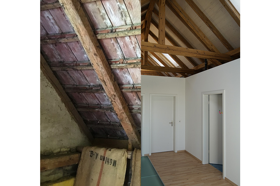 renovation maison en zone agricole